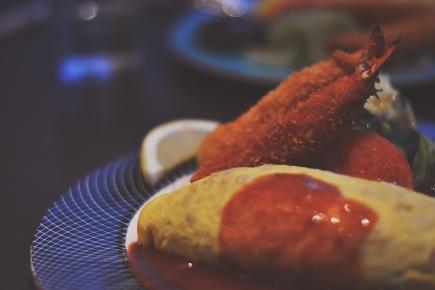 Omu Rice Dinner