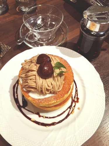 Supper - Chestnut Souffle Pancakes
