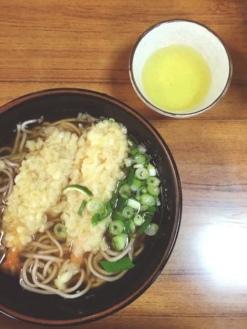 soggiest tempura soba